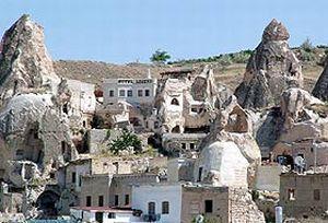 Kapadokya tam bir müze zengini.21308