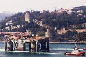 Platform yola çıktı, Ege'de ilk petrol sondajı Ocak'ta.14636