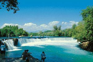 Manavgat'a 850 bin turist bekleniyor .15012