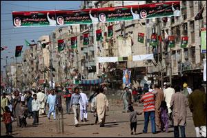 Pakistan'da çatışma: 50 ölü  .30380