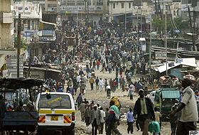 Kenya'da şiddet: 120 ölü.91253