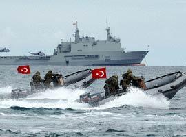 Kardak kayalıkları yine Türkiye-Yunan krizine sebep oldu.10370