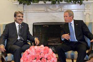 George Bush ve Gül'ün gündemi sınır ötesi harekat .13237