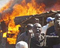 Rakip kabile, kiliseye sığınan 30 kişiyi diri diri yaktı.11013