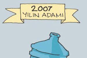 Karikatürist Salih Memecan 'Yılın Karikatürü'nü çizdi.7996