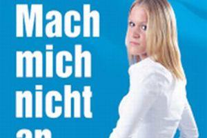 Almanya'dan ırkçı bir afiş: