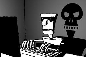 Antalya'da yakalanan dünyanın en ünlü 'hacker'ı.10801