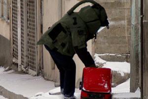 Diyarbakır saldırısı sonrası 'çanta' gören polisi arıyor.50078