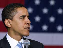 ABD'de başkanlık yarışında ilk turu güçlü Obama kazandı.5381