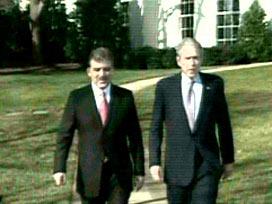 Gül'ün, Beyaz Saray'da Bush ile görüşmesi sona erdi.16510