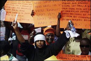 Kenya'da muhalefet, protesto yürüyüşlerine son veriyor.23449
