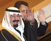 Sarkozy, Suudi Arabistan'da.11437