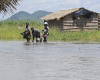 Mozambik'te seller: 50 ölü.10972