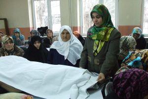 Sakarya'da cenaze yıkama kursu açıldı.31154