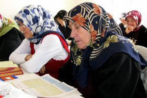 Araban'ın ilk kadın Kur'an Kursu açıldı.34081