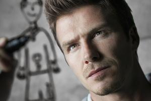 Beckham çifti çizgi roman oluyor.8459