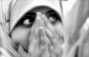 Ukraynalı genç kadın, Müslüman oldu.8852