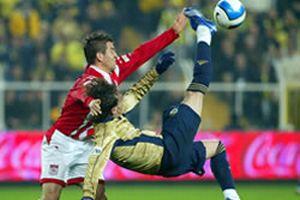 Sivas'ı dev maçın heyecanı sardı.14029