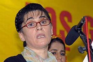 Leyla Zana, PKK'ya darbe vuran operasyona karşı.12445