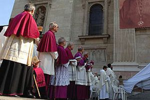 Hristiyan cemaati Noel'i kutladı.16135