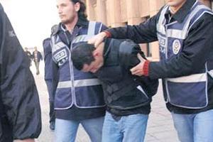 Ankara'da 16 kişi gözaltına alındı.13445
