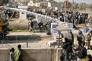 Mısır sınır muhafızları, Gazze Şeridi sınırını kapatacak.21578