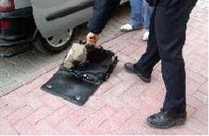 Ankara'da şüpheli paket paniği.13975