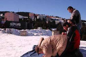 Kar üstünde cuma namazı.14439