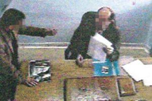 Tapudaki rüşvet, gizli kamerayla görüntülendi.14062