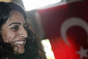 DTP Milletvekili Tuncel, İstanbul'da eyleme katıldı.8770