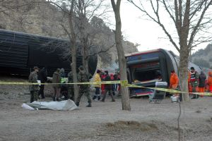 K�tahya'daki kaza yerinden son foto�raflar .30352