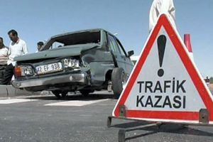 Tokat'ta düğün konvoyunda kaza: 7 yaralı.26645