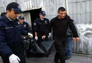 Bo� arazide polis cesedi bulundu.13055