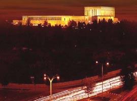 Başkent'in büyük bölümü karanlıkta kaldı.9163