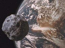 Göktaşı Dünya'yı sıyırıp geçti.18241