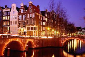 Amsterdam'da yeraltı şehri planı.18149