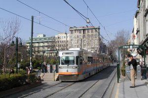 Fatih'te tramvayın çarptığı kadın yaralandı.30720