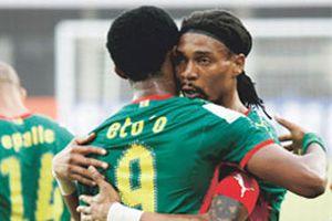 Song'lu Kamerun çeyrek finalde.13661
