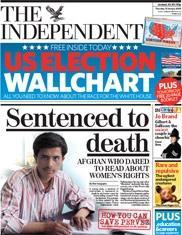 Kadın hakları raporu dağıtan gazeteciye idam cezası!.16861