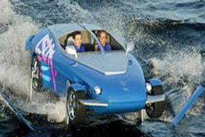 Bu otomobil karada, havada, suda gidiyor.15983