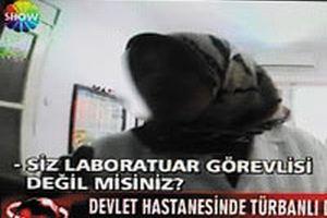 Hastanede başörtülü avına RTÜK'ten ceza geldi.12483