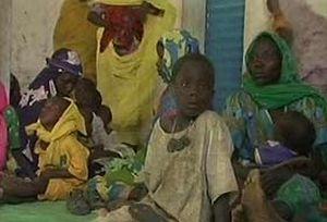 Darfur'dan 12 bin kişi daha kaçtı.13969