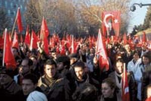 İstanbul, Filistin için sokaklara döküldü!.15900