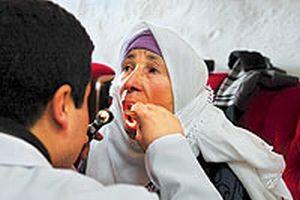 Eksi 20 derecede 'gönüllü' sağlık taraması yapıldı.13038