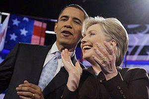 Clinton 9, Obama 11 eyalette birinci geldi.14132