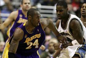 Lakers Wizards'ı Kobe ile geçti.9988