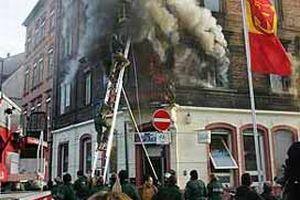 Yangının çıkmasında ırkçılığın etkili olduğu açıklandı.18367