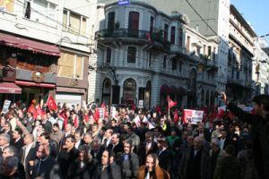 CHP'nin Taksim'de ki dev yürüyüşü.19789
