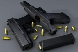 Habur'da Glock tabancalar  ele geçirildi.8196