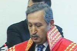 Yargıtay Başkanı Hasan Gerçeker, mazbatasını aldı.9626